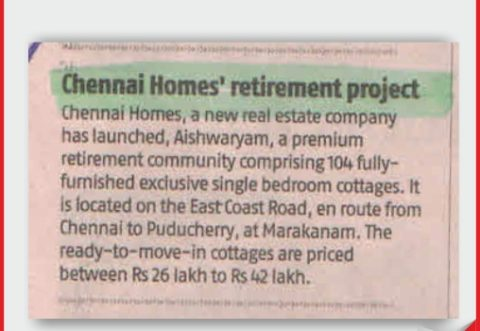 Leading retirement communities in Chennai