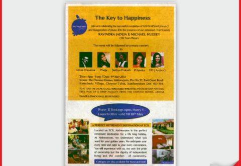 Best retirement homes in Chennai