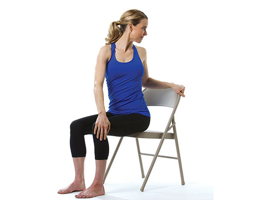 Seniors Chair Yoga Poses